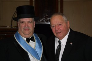 Worshipful Master and his Father